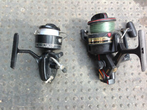 "2  FISHING REELS ""MITCHELL"" 301A & DAIWA GRAPHITE AG4000b"