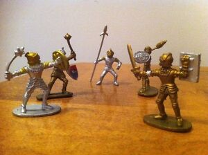 Set of Plastic Medieval Knights Toy Soldiers Cambridge Kitchener Area image 1
