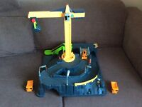 Toy quarry and crane excellent condition