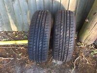Pair of Arrow speed CP 661 185 55 R14 80H tyres
