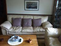 Cream leather Sofa set free!!!