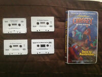 10 Adventures in Odyssey Tapes