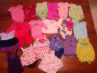 3-6 month girls clothing, like new