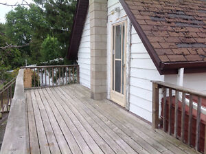 Country 1 bedroom with private deck