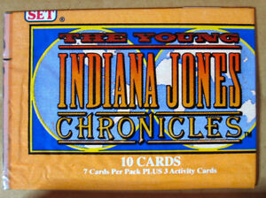 YOUNG INDIANA JONES CHRONICLES FULL SET 114 CARDS PRO 1992 MINT