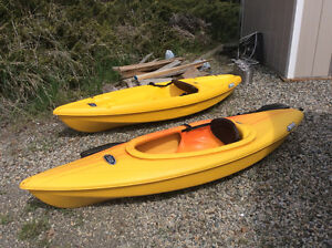Two Kayaks For Sale