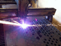 Custom cutting and welding