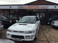 Open Sunday Subaru Impreza WRX fitted with 294bhp 2.5 Jap Redtop Engine