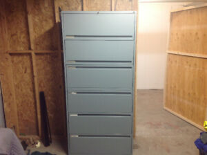6-DR LATERAL FILE CABINET
