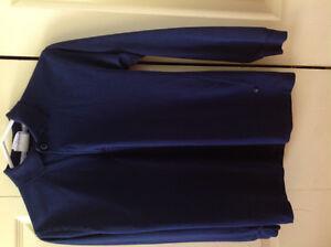 Polo bleu marine taille 10