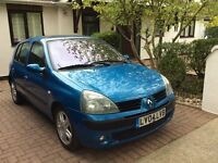 RENAULT CLIO 1.5 DCI DIESEL 5 DOOR SPORT GREAT CONDITION IN OUT 55MPG Ford fiat Peugeot Kia seat