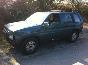 1995 Nissan Pathfinder for parts 3.0L V6 automatic, 4X4, leather