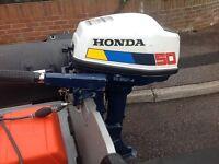 Honda 5hp Fourstroke Outboard Engine