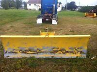 Plow for tractor
