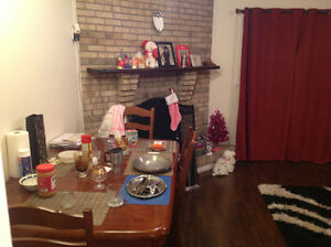 Furnished bachelor with free heat and high-speed wifi **June1**