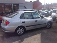 Hyundai Accent gsi 12 months mot lots off history 67,000 miles