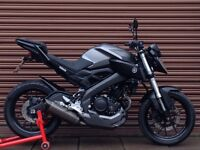 Yamaha MT 125 ABS 2015. AKRO Exhaust. Nationwide Delivery Available..