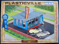 HO PLASTICVILLE USA BUILDING KIT #2916 DRIVE-IN HAMBURGER STAND