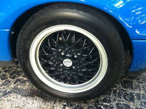 BBS RA wheels and tires VW, Miata, Honda 100x4 15x6