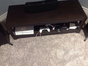 Entertainment cabinet for under a tv