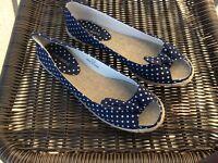 Polka dot shoes