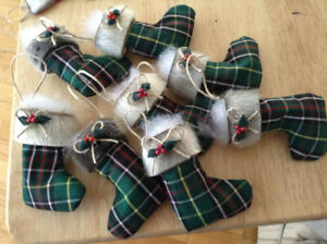 Seal skin tree ornaments!