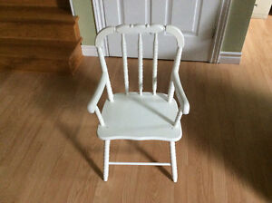 Child solid wood chair
