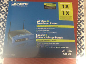 Broadband Router.  Linksys Wireless G