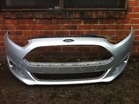 Ford Fiesta 2012 2013 2014 2015 genuine silver front bumper for sale