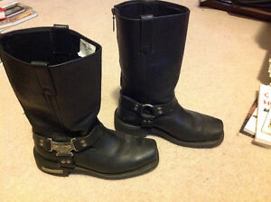 Motorcycle Boots - woman's size 9
