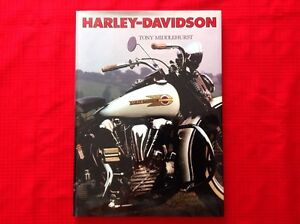 Harley Davidson book by Tony Middlehurst