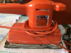 Black & Decker SANDER/ WEN SCROLL SABER SAW