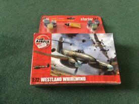 Airfix - Westland Whirlwind Model Kit - Brand New