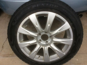 WINTER TIRES REDUCED four 235/55 R18 SJ6 tires on alloy rims