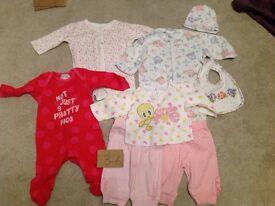 Baby girl 3-6 month sleep wear