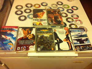 PsP Games And Movies With cases Mint