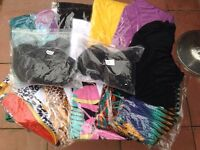 Ladies designer beech wear bikinis,sarongs and swim suits joblot clearance bankrupt stock