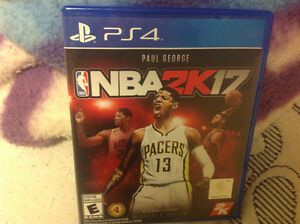 NBA 2K17 for the PS4