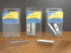 RV DESIGNER BAGGAGE DOOR CATCHES-STAINLESS STEEL!