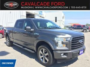 2016 Ford F150 4x4 - Supercrew XLT SPORT 302A