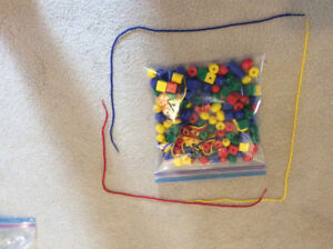 Lace and Trace Activity Toy -educational