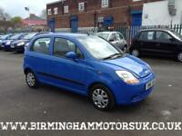 2007 (07 Reg) Chevrolet Matiz 1.0 SE 5DR Hatchback BLUE + LOW MILES