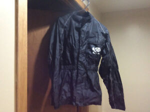 Motorcycle rain suit clothing