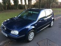 2003 Volkswagen Golf 1.4-1 lady owner-service history-July 2017 mot-great value