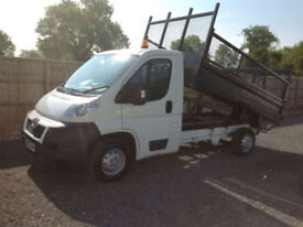 2013 13 PEUGEOT BOXER 2.2HDI TIPPER 54000 MILES 1 ONWER