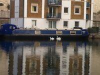 Beautiful boat / Barge Brighton marina