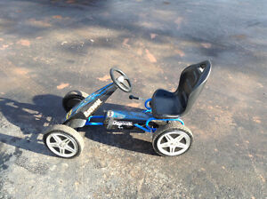 2 bikes and pedal car for sale