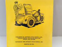 """Service Manual for 1940-58  45""""SV and Servi-Car"""