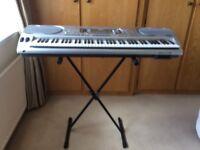 Casio WK3500 digital keyboard.