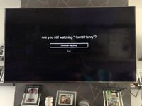 "In good condition a 65"" hisense smart TV"